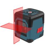 Linha cruzada de nível HANMATEK LV1 Laser Laser com faixa de medição 50 pés, linha vertical e horizontal com autonivelamento