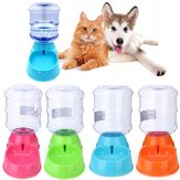 3.5L Large Bottle Automatischer Pet Drink Dispenser Hund Katze Feeder Waterer Bowl Dish