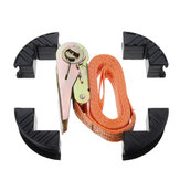 Drillpro A2 Type 2-6 Meters Woodworking Adjustable Belt Rapid Corner Clamp Strap Holder 90 Degree Right Angle Fixing Clamp for Picture Frame Drawer