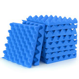 10pcs 25x25x4cm Sound-absorbing Cotton Soundproof Cotton Foam Wall Muffler Sponge