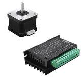 HANPOSE TB6600 Stepper motor Driver y 17HS4401-S 40mm Nema 17 Stepper motor para máquina de grabado CNC