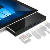 Rocketek SUR469 o SUR569 Lettore di schede hub USB 4K HD Adattatore USB per scheda SD TF Superficie Pro