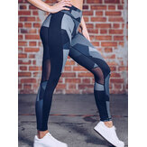 Leggings casual da donna con stampa Yoga Leggings sportivi