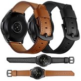 Bakeey 20mm 22mm Ancho Reloj de cuero de vaca Banda Reemplazo de correa para Samsung Galaxy Watch 42mm / Galaxy Watch 46mm