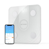 BlitzWolf® BW-SC1 WiFi Smart Body Fat Scale Řízení APP BMI analýza dat s 13 Metrics Metrics Digital Weight Scale