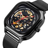 Reloj SKMEI 9184 Fashion Impermeable Hollow Art Mecánico
