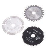 Drillpro 3Pcs HSS/TCT 85mm Circular Saw Blade Cutting Discs Woodworking Rotary Tool