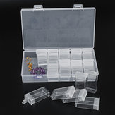 24 Slot Nail Diamond Painting Tool Organizer Case Grid Jewelry Drill Display Storage Box