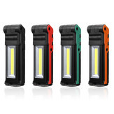 2LED+COB 400LM USB Rechargeable Foldable Car Maintenance Light Work Light LED Flashlight Power Bank