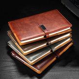 A5 PU Leder Vintage Journal Notizbuch Liniertes Papier Notizblock Tagebuch Planer mit Schnalle