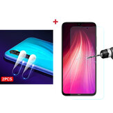 For Xiaomi Redmi Note 8 Bakeey Anti-Explosion Tempered Glass Screen Protector + 2PCS Anti-Scratch Phone Lens Protector