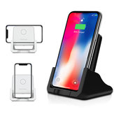 10W Qi Wireless Charger Fast Charging Desktop Phone Holder For Qi-enabled Smart Phone for iPhone 11 for Samsung Galaxy Note 10+ Xiaomi MI 9
