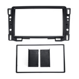 Double Din Radio Fascias Dash Sail Stereo Panel Trim Frame For Chevrolet Car