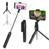 K07 Mini bluetooth Remote Control Selfie Stick Extendable Tripod Phone Holder