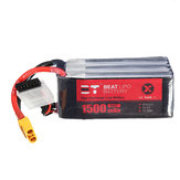 BT 22.2V 1500mAh 95C 6S Lipo البطارية XT60 Plug for RC Racing Drone