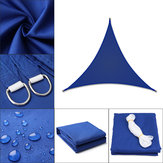 Regular Triangle/Right Triangle Blue Tent Sunshade Sail Waterproof 280GSM Polyester 300D Oxford Farbic Protection Cover Awning Decoration