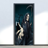 Miico MT003 Halloween Sticker Door Stickers Horror Wall Sticker Removable Stickers