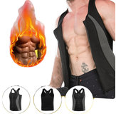 Men's Spandex Vest Sauna Fitness Body Shaper Control Hot Sweat Vest Tracksuit