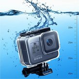 RUIGPRO 45m Waterproof Housing Protective Case with Buckle Basic Mount & Screw for GoPro Hero 8 FPV Camera