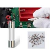 10Pcs ANENG 5X20mm Cerâmico Fusível 0.2A + 10A para multímetro