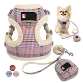Pet Adjustable Harness Puppy Dog Harness Bunty Soft Comfortable Mesh Breathable Fabric
