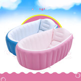 Portable Inflatable Bathtub For Babies Kid Baby Bath Thickening Folding