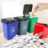 تصنيف سلة المهملات لعبة تصنيف القمامة التعليم المبكر لعبة تحف اللعب