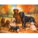 5D Diamant Gemälde Hunde Stickerei Kreuzstich Bilder Kunsthandwerk Werkzeug Satz Decor