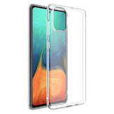 Bakeey Crystal Clear Transparent Non-yellow Soft TPU Housse de protection pour Samsung Galaxy A51 2019