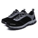 GRACOSY Mens Outdoor Lightweight Breathable Hiking Boots Anti-Slip Trekking Shoes Casual Sports Running Sneakers