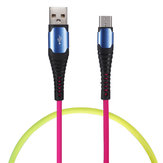 Bakeey 3A Type C Micro USB Colorful Fast Charging Data Cable For Huawei P30 Pro Mate 30 Mi9 9Pro 7A 6Pro OUKITEL Y4800
