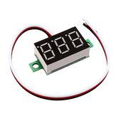 5個0.36インチDC0V-32V赤色LEDデジタルディスプレイ電圧計電圧計逆接続保護