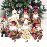 Navidad Santa Muñeca Navidad Estatuilla Adorno Regalos Decoración Juguetes
