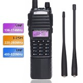 BaoFeng UV-82 VHF UHF 220-260Mhz Amatuer Two Way Radio Portable Ham Band Walkie Talkie Ham