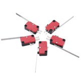 5PCS  V-153-1C25 Long Hinge Lever Miniature Basic Micro Switch SPDT 15A