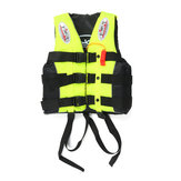 Portable Oxford Life jacket Swimming Fishing Boating Kayak Buoyancy Aid Vest-M/L/XL