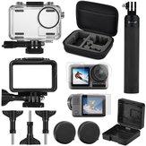 SheIngKa 40 M À Prova D 'Água de Proteção Caso Quadro Shell Tela Filme Selfie Varanda para DJI OSMO Action Sports Camera