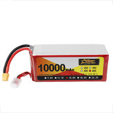 ZOP Power 14.8V 10000mAh 65C 4S Lipo Батарея XT60 Разъем для RC FPV Racing Дрон