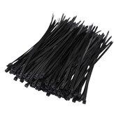 Suleve ZT05 Nylon 250Pcs / 500Pcs 4мм 15/20/25 / 30см Черный / Белый Nylon Самоблокирующиеся Кабельные стяжки Zip-стяжки Сильная прочность на растяжение
