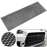 Universal 120X40cm Diamante Tipo Parrilla de malla ABS Rejilla de ventilación de parachoques de plástico negro