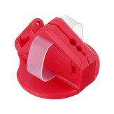 Nailer de segurança magnético vermelho Drillpro ABS Nailer de dedo Proteja os dedos para martelar o prego