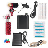Rotary Tattoo Machine Beginner Complete Motor Kit Power Supply 110V