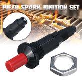 Piezo Spark Conjunto de ignição Cabo Push Button Igniter Fit Gas BBQ Grill