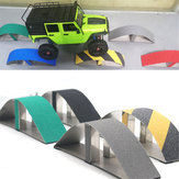 RC Vehicle Simulate Barrier Cross Axle Arch Bridge Barrier For SCX10 TRX4 KM2 90046 RC Car Parts