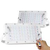 50 Watt RGB LED Flutlicht Fernbedienung Straßenlaterne Wasserdichte Outdoor Garten Scheinwerfer AC220V