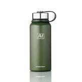 Tasse isolée de bouteille d'eau de sports de tasse de vide d'acier inoxydable de 610/800/1100 / 1500ml