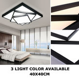 Modern Style LED Square Stack Deckenleuchte Square Pendant Living Room Fixture