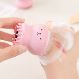 Silicone Face Cleansing Brush Facial Cleanser Pore Cleaner E
