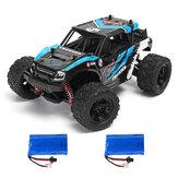 HS 18311/18312 1/18 35 km / h 2.4G 4CH 4WD Alpinista de alta velocidade Crawler RC Car Toys Two Bateria