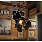 Retro Track Light Industrial LED Ceiling Light E27 Bulb Indoor LED Lamp Coffee Shop Clothing Store Bar Art Exhibition Studio